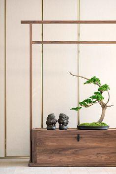 Zen ⅅℰℂᎾℛ °˚ - Pinterest: Crackpot Baby 🍒 Zen Furniture, Japanese Furniture, Chinese Furniture, Furniture Design, Chinese Interior, Japanese Interior Design, Chinese Design, Chinese Style, Zen Interiors