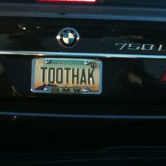 #Vanity #licenseplate: #TOOTHAK http://www.glennautomall.com/lexington-used-preowned