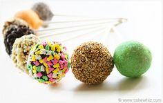 various cake pops 15