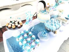 Frozen Birthday Party styled by Eli Franco