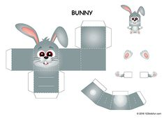 Mini paper toy for kids. Easter Activities For Kids, Easter Crafts For Kids, Easter Games, Kids Fun, Free Easter Coloring Pages, Easter Colouring, Paper Toys, Paper Crafts, Mickey Mouse Parties