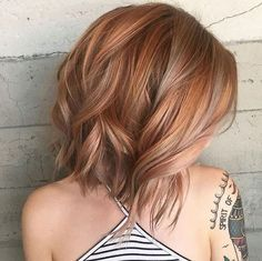 Copper and blush