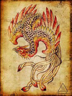 disegni squamificio oriental phoenix