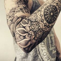 #tattoo #mandala #hinstzart