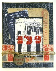 Artistic Outpost London card by Shelly