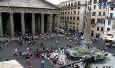 Live Cam Rome - Pantheon