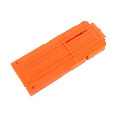 1PCS 12 Reload Clip Magazines Round Darts Replacement Plastic Magazines Clip Orange For Nerf N-Strike Elite High Quality