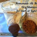 DIY Dry Shampoo for Dark or Light Hair