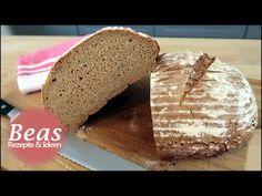 Sauerteig Rezept | Sauerteig selber herstellen und das erste Brot backen - YouTube