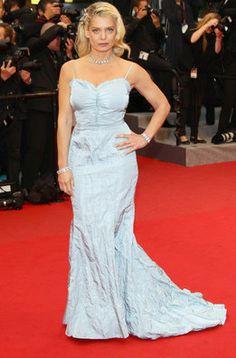 """Angela Ismailos en la première de """"Amour"""" en Cannes"""