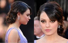 mila kunis hair updo | Beauty and the Feast Blog: Beauty Tips, Make Up Reviews, Interviews ...