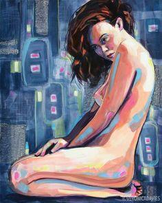 Look Inside, Acrylic, x Veronica, Anime, Painting, Art, Art Background, Painting Art, Kunst, Cartoon Movies, Paintings