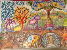 Left side of picture from The Enchanted Forest