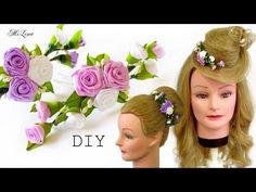 ШПИЛЬКИ В ПРИЧЕСКУ, МК / DIY Headdress Hairpins - YouTube