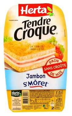 Herta Tendre croque au fromage st moret