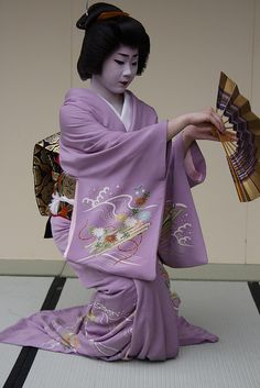 Geiko Kogiku is a funny and warmhearted entertainer. She is also a staple at the Miyako Odori!