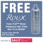 FREE 15oz. Roux Fanci-Full Rinse Temporary Hair Color - http://www.couponoutlaws.com/free-15oz-roux-fanci-full-rinse-temporary-hair-color/
