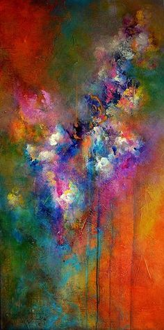 """""""Amor Fati"""" by Jaanika Talts Abstract Canvas Art, Acrylic Art, Abstract Watercolor, Art Techniques, Painting Inspiration, Collage Art, Modern Art, Art Drawings, Art Projects"""