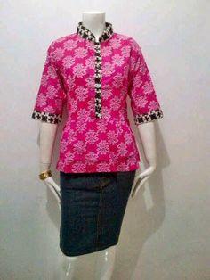 Model Blouse Batik Bagoes Solo Peplum Series Call Order   085-959-844-222 ef74ecca34