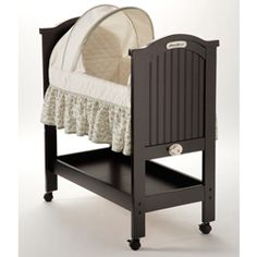 @Overstock - This bassinet from Eddie Bauer is crafted to complement your home.  Bassinet soothes your little one with a gentle rocking motion or locks into place for undisturbed sleep.http://www.overstock.com/Baby/Eddie-Bauer-Rocking-Wood-Bassinet/5033926/product.html?CID=214117 $127.99