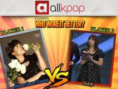 Who Wore it Better: Eunji vs. Moon Geun Young