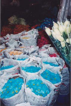 Thailand-Thai-bangkok- saphan phut night market - flower market
