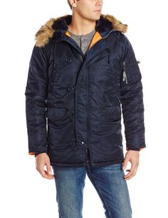 Amazon.com: Alpha Industries Men's N-3B Slim Fit Parka: Clothing