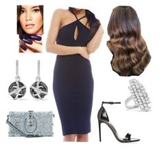 """""""Bez tytułu #18008"""" by sophies18 ❤ liked on Polyvore featuring AX Paris, OPI, Dolce&Gabbana, Stephen Webster and Anita Ko"""