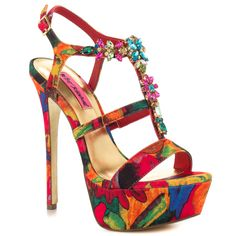 Noblee - Red Multi, Betsey Johnson, 149.99, Free Shipping!