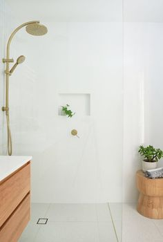 My Bathroom Reno Timeline + Budget — Adore Home Magazine - - Renovating a bathroom is tricky – and with so many different trades involved it can very quickly add up! I explain my renovation timeline and budget. Laundry In Bathroom, Bathroom Renos, Bathroom Renovations, Condo Bathroom, Bathroom Canvas, Family Bathroom, Bathroom Furniture, Master Bathroom, White Vanity
