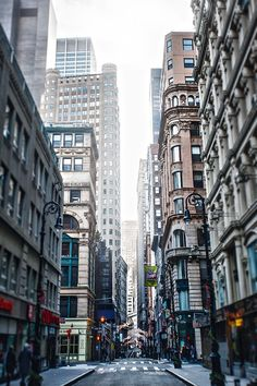 Downtown Manhattan by Alik Mos in Photography