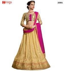 SAI TRENDZ-Women's Beautiful Semistiched Lenhenga-2301