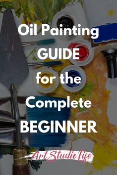 Here are 6 great tips for the complete beginner to oil painting. Learn what you need to start with oil paints such as; supplies, mind set and next steps! A lot of oil painting for beginners guide, skip the first introductory steps - which can make the complete beginner feel a bit overwhelmed and quit before they start... Start here and then you can move forward one step at a time!