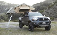 I would go everywhere in this awesome truck (Venchurs Tacoma Tent II)