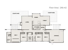 1000 Images About Floor Plans 200m2 250m2 On Pinterest New Home Builders