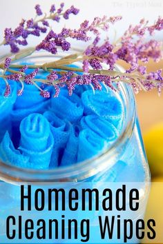 Diy household tips 282882420332998717 - Make homemade DIY cleaning wipes for your house that smell amazing, are reusable, and clean up all the spills that occur in your home. Source by thetypicalmom Homemade Cleaning Wipes, Homemade Cleaning Supplies, Diy Home Cleaning, Household Cleaning Tips, Cleaning Recipes, Cleaners Homemade, Spring Cleaning, Cleaning Hacks, Diy Cleaners