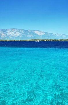 Cleopatra Island. Turkey