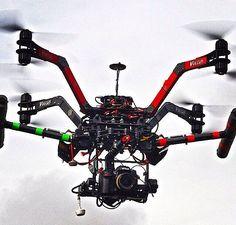 (medium size AUV, Vulcan X8) aerial drones, muticopter, aerial video, aerial photography, aerial photography, flight, fly, video, DSLR,  #drones #multicopter