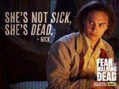 Nick. Fear the Walking Dead Season 1