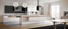 cocinas con krion - Buscar con Google