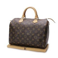 Louis Vuitton Speedy 30 Monogram Handle bags Brown Canvas M41526