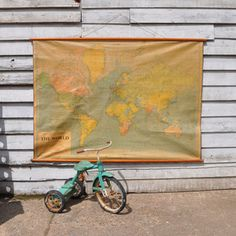 Vintage Map now featured on Fab.