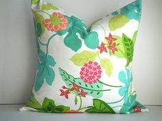 LOVE these 18X18 Indoor/Outdoor pillows!  SET Of TWO by SimplyDivineByJoann, $58.00
