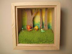Dioramas with tiny things