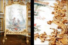 La Grande Singerie du Château de Chantilly, Dorures