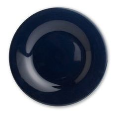 """Sonoma Navy Dinner Plate by Tag. $8.75. The ultimate basic now includes a rich new navy blue color. The perfect ingredient to mix & match. Made of ironstone, all pieces are hand painted. Microwave and dishwasher safe. 11"""""""