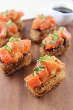 Japanese Spicy Tuna Rice Cakes | Little Leopard Book