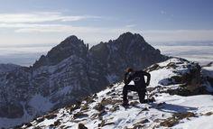 on Humboldt Peak-Altitude 14,064 feet