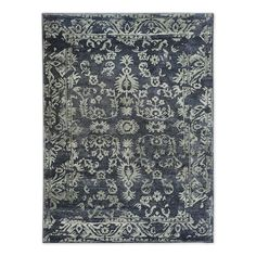 Medallion Rug - Midnight | west elm