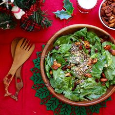 It was less than a week until Christmas, the last day of school and I had not eaten dinner at home for 4 days. I was in need of salad. S...